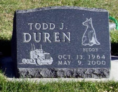 DUREN, TODD J. - Mitchell County, Iowa   TODD J. DUREN