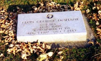 DUSHANE, ELON GEORGE - Mitchell County, Iowa | ELON GEORGE DUSHANE