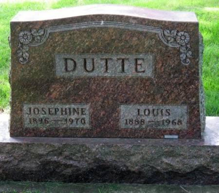 DUTTE, LOUIS - Mitchell County, Iowa   LOUIS DUTTE