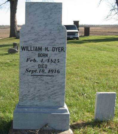DYER, WILLIAM H. (LARGE) - Mitchell County, Iowa | WILLIAM H. (LARGE) DYER