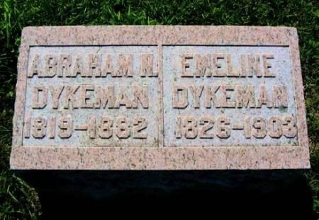 DYKEMAN, EMELINE - Mitchell County, Iowa | EMELINE DYKEMAN