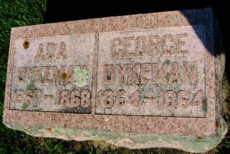 DYKEMAN, ADA - Mitchell County, Iowa   ADA DYKEMAN