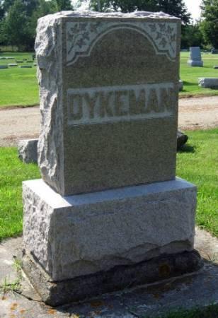 DYKEMAN, GEORGE (FAMILYSTONE) - Mitchell County, Iowa | GEORGE (FAMILYSTONE) DYKEMAN