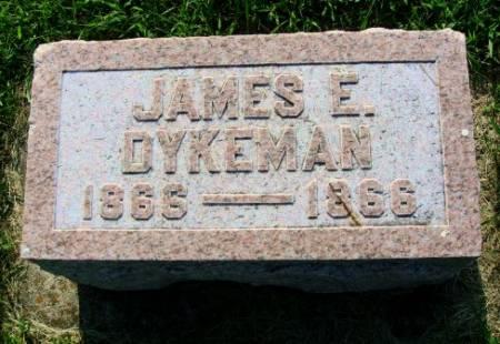 DYKEMAN, JAMES E. - Mitchell County, Iowa | JAMES E. DYKEMAN