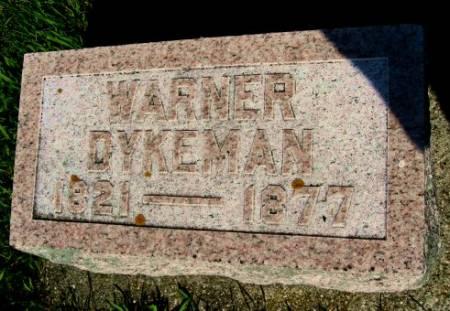 DYKEMAN, WARNER - Mitchell County, Iowa | WARNER DYKEMAN
