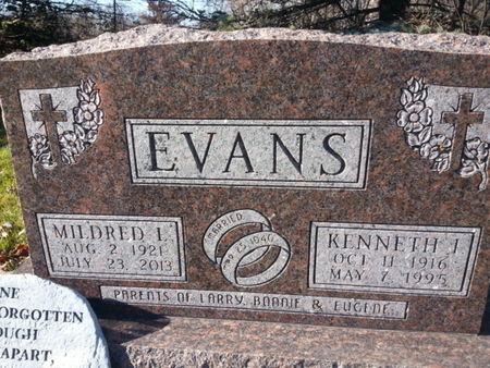 EVANS, MILDRED L. - Mitchell County, Iowa | MILDRED L. EVANS