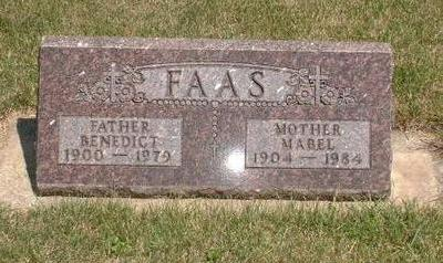 WINER FAAS, MABEL - Mitchell County, Iowa | MABEL WINER FAAS