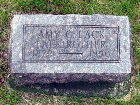 LACK FAIRBROTHER, AMY C. - Mitchell County, Iowa | AMY C. LACK FAIRBROTHER