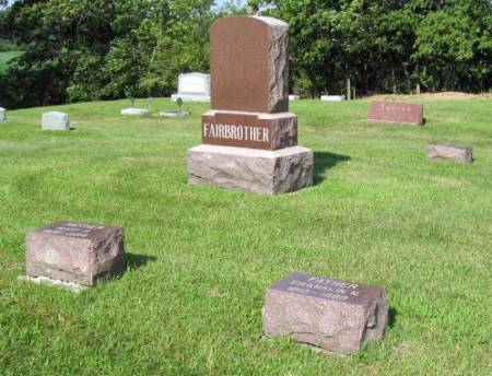 FAIRBROTHER, FRANKLIN (FAMILY LOT) - Mitchell County, Iowa | FRANKLIN (FAMILY LOT) FAIRBROTHER