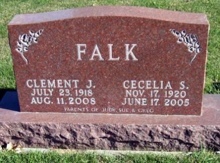 FALK, CECELIA S. - Mitchell County, Iowa   CECELIA S. FALK