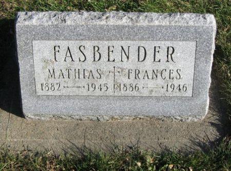FASBENDER, MATHIAS - Mitchell County, Iowa | MATHIAS FASBENDER