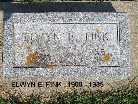 FINK, ELWYN E. - Mitchell County, Iowa | ELWYN E. FINK