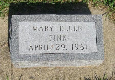 FINK, MARY ELLEN - Mitchell County, Iowa | MARY ELLEN FINK