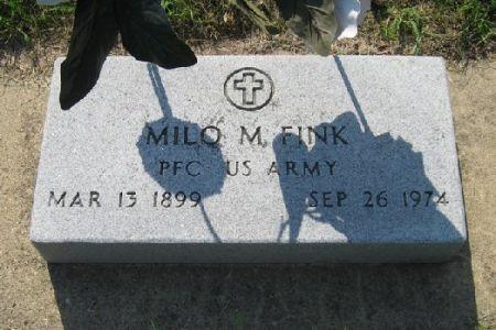 FINK, MILO M. - Mitchell County, Iowa   MILO M. FINK
