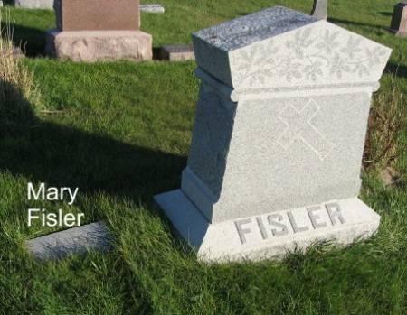 FISLER, MARY (LOT) - Mitchell County, Iowa   MARY (LOT) FISLER