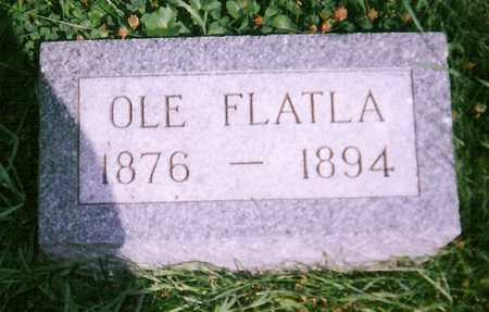FLATLA, OLE - Mitchell County, Iowa | OLE FLATLA