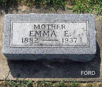 FORD, EMMA E. - Mitchell County, Iowa   EMMA E. FORD
