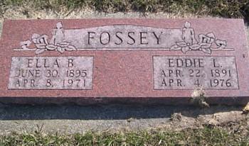 FOSSEY, EDDIE LEWIS - Mitchell County, Iowa | EDDIE LEWIS FOSSEY