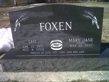 FOXEN, MARY JANE - Mitchell County, Iowa | MARY JANE FOXEN