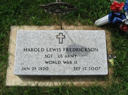 FREDRICKSON, HAROLD LEWIS - Mitchell County, Iowa | HAROLD LEWIS FREDRICKSON