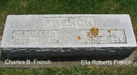 FRENCH, ELLA R. - Mitchell County, Iowa   ELLA R. FRENCH