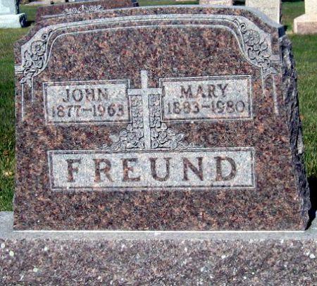 FREUND, MARY - Mitchell County, Iowa   MARY FREUND