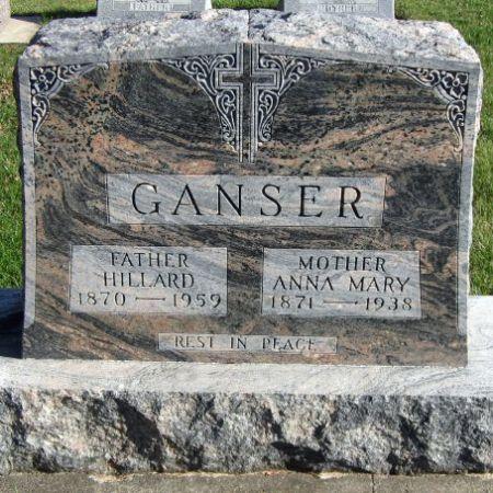 GANSER, HILLARD - Mitchell County, Iowa | HILLARD GANSER