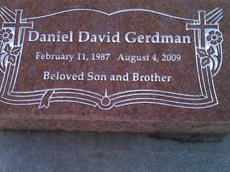 GERDMAN, DANIEL DAVID - Mitchell County, Iowa | DANIEL DAVID GERDMAN