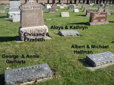 HALFMAN, ALOYS (LOT) - Mitchell County, Iowa | ALOYS (LOT) HALFMAN