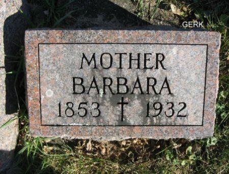 GERK, BARBARA - Mitchell County, Iowa | BARBARA GERK