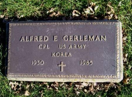 GERLEMAN, ALFRED E. - Mitchell County, Iowa | ALFRED E. GERLEMAN