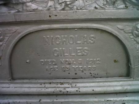 GILLES, NICHOLAS - Mitchell County, Iowa | NICHOLAS GILLES