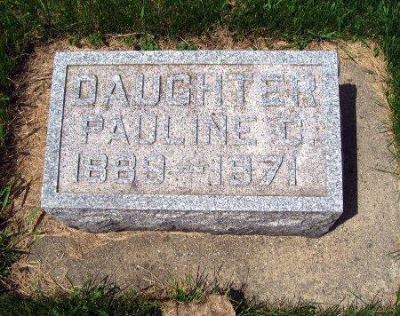 GISLESON, PAULINE C. - Mitchell County, Iowa | PAULINE C. GISLESON