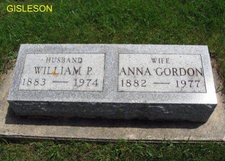 GISLESON, ANNA - Mitchell County, Iowa | ANNA GISLESON