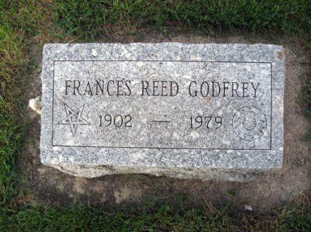 REED GODFREY, FRANCES - Mitchell County, Iowa   FRANCES REED GODFREY
