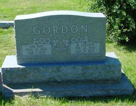 GORDON, ADA MAY - Mitchell County, Iowa | ADA MAY GORDON