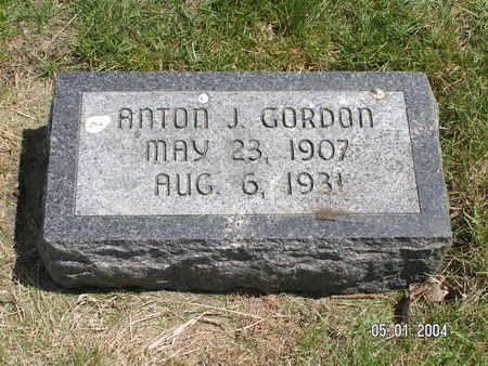 GORDON, ANTON J. - Mitchell County, Iowa | ANTON J. GORDON