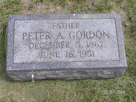 GORDON, PETER A. - Mitchell County, Iowa | PETER A. GORDON