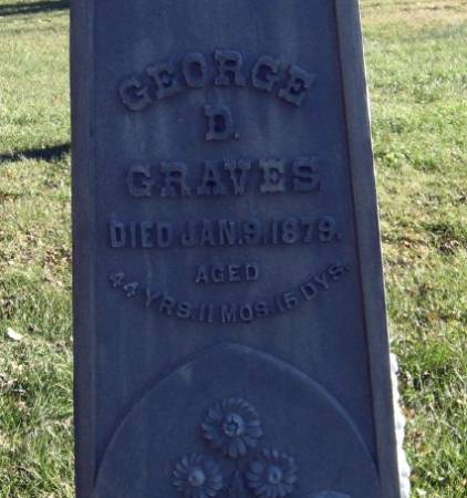GRAVES, GEORGE D. - Mitchell County, Iowa   GEORGE D. GRAVES