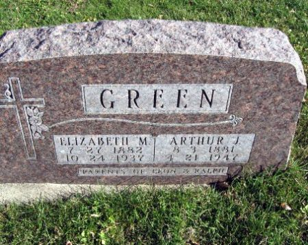 GREEN, ARTHUR J. - Mitchell County, Iowa | ARTHUR J. GREEN