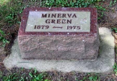 VANCE GREEN, MINERVA - Mitchell County, Iowa | MINERVA VANCE GREEN