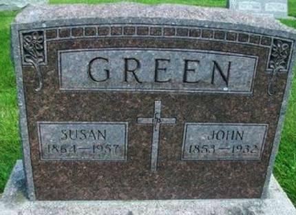 GREEN, JOHN - Mitchell County, Iowa   JOHN GREEN