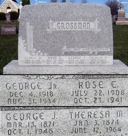GROSSMAN, THERESA M. - Mitchell County, Iowa | THERESA M. GROSSMAN