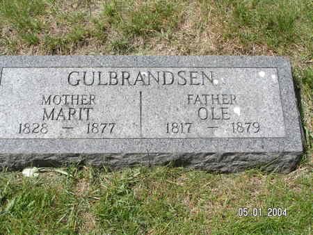 GULBRANDSEN, OLE - Mitchell County, Iowa | OLE GULBRANDSEN