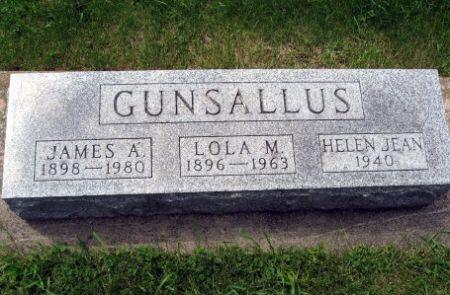 GUNSALLUS, JAMES A. - Mitchell County, Iowa | JAMES A. GUNSALLUS