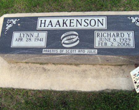 HAAKENSON, RICHARD Y. - Mitchell County, Iowa   RICHARD Y. HAAKENSON