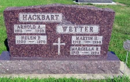 WETTER, MARCELLA R. - Mitchell County, Iowa | MARCELLA R. WETTER
