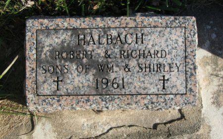 HALBACH, RICHARD - Mitchell County, Iowa   RICHARD HALBACH