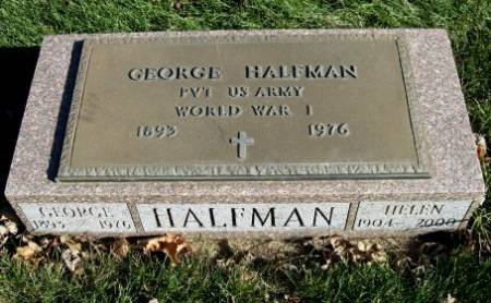 HALFMAN, HELEN - Mitchell County, Iowa   HELEN HALFMAN