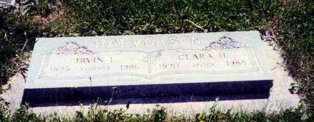 HALVORSON, CLARA H. - Mitchell County, Iowa | CLARA H. HALVORSON